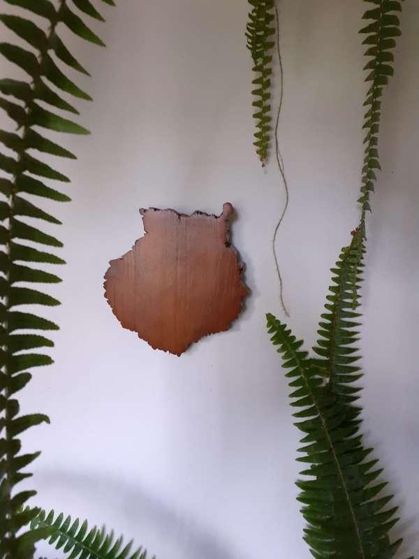 Imagen Gran canaria en madera artesanal