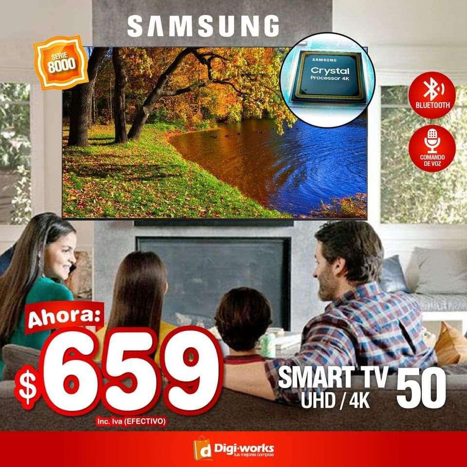 Imagen Samsung smart tv 50