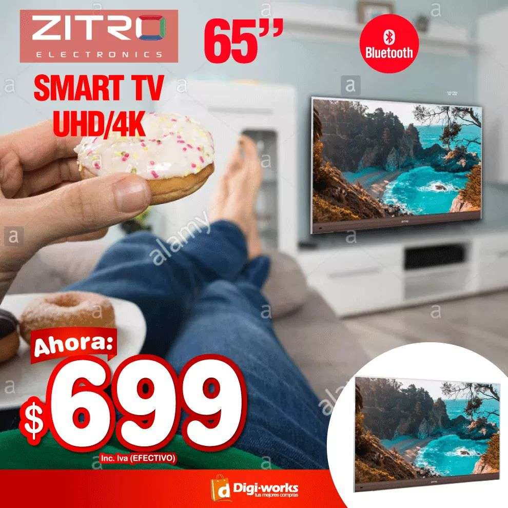 Imagen Zitro Smart tv 65