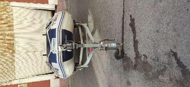 Imagen producto Zodiac 380 preparado para salir a pescar 10