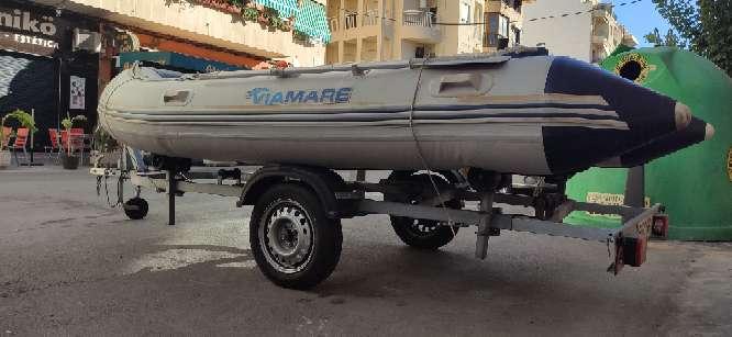 Imagen producto Zodiac 380 preparado para salir a pescar 9