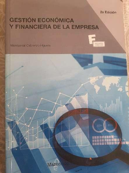 Imagen Gestion económico y financiera de la empresa