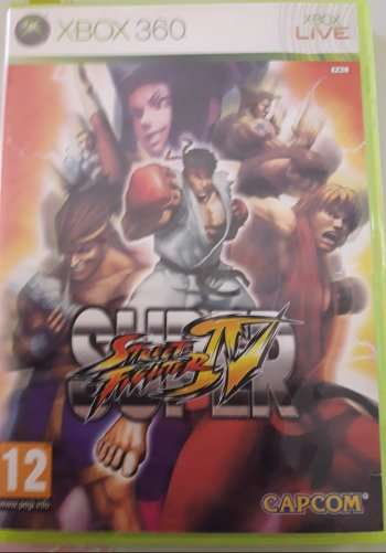 Imagen Super Street Fighter 4 (Xbox 360)