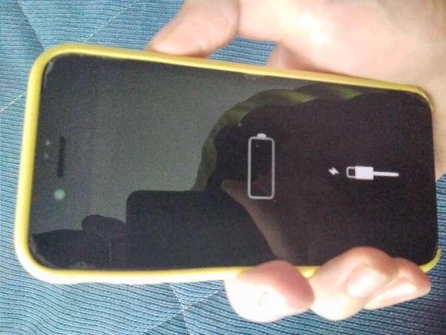 Imagen iphone 8 para piezas