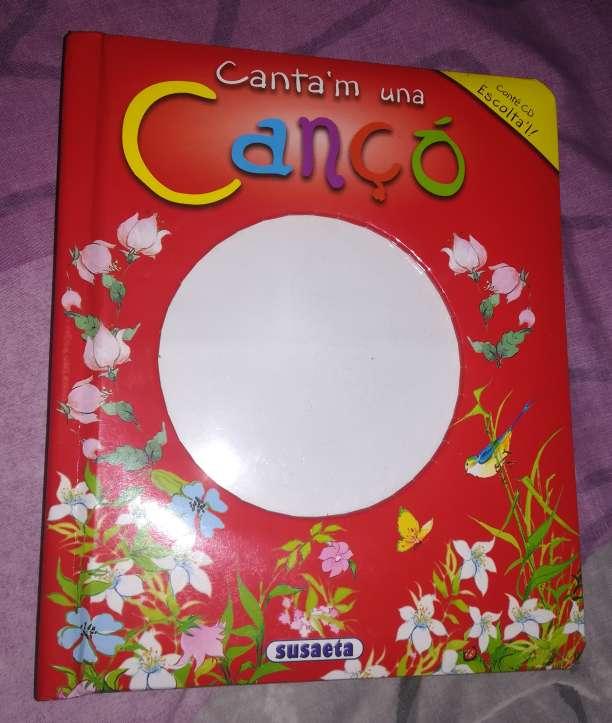 Imagen Llibre Canta'm una cançó. Falta el CD