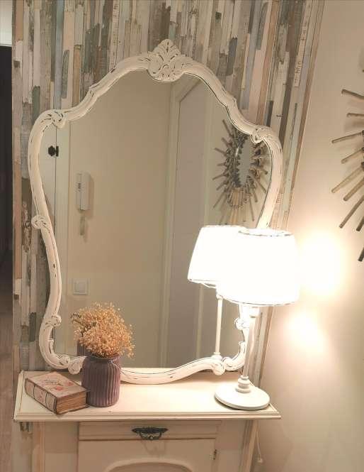 Imagen Espejo antiguo restaurado.