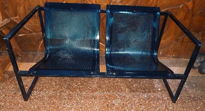 Imagen Silla sillon tipo tandem, 2 asientos.