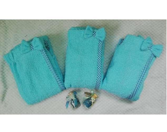 Imagen toallas con turbante para el cabello