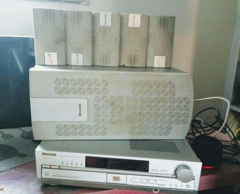 Imagen producto Amplificador y Home Theatre Panasonik 2