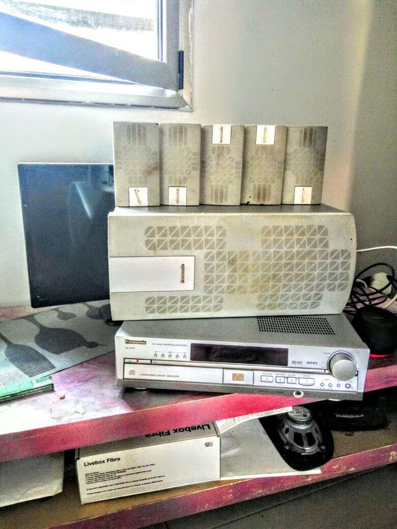 Imagen Amplificador y Home Theatre Panasonik