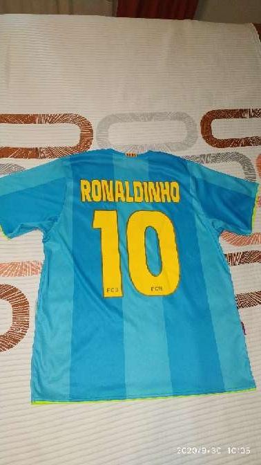 Imagen Camiseta F. C. Barcelona de Ronaldinho