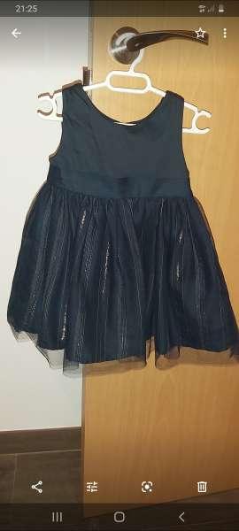 Imagen Vestido negro kiabi talla 12 meses