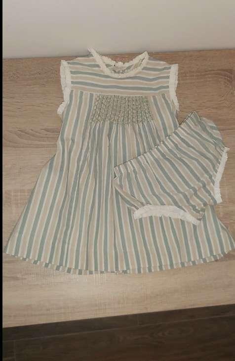 Imagen Vestido niña rayas talla 12-18 meses