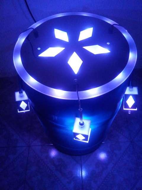 Imagen lámpara de led .