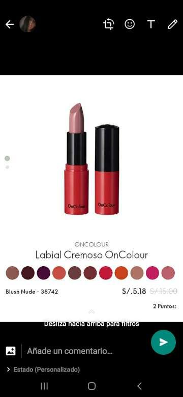 Imagen producto Labial cremoso 1