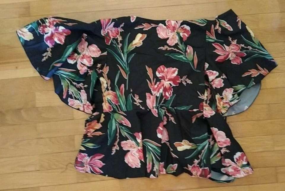 Imagen producto Camisa estampada Flores 2