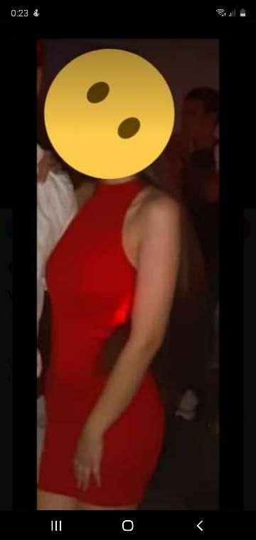 Imagen Mini vestido rojo