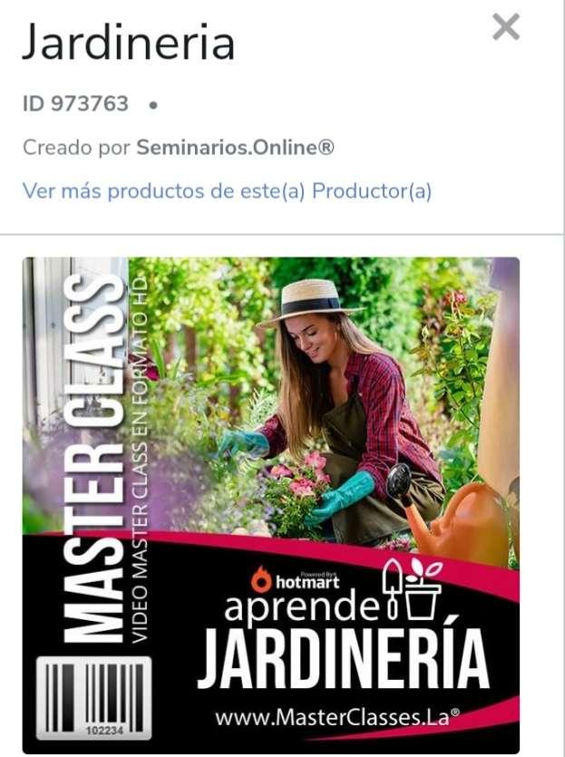 Imagen Curso De jardineria online