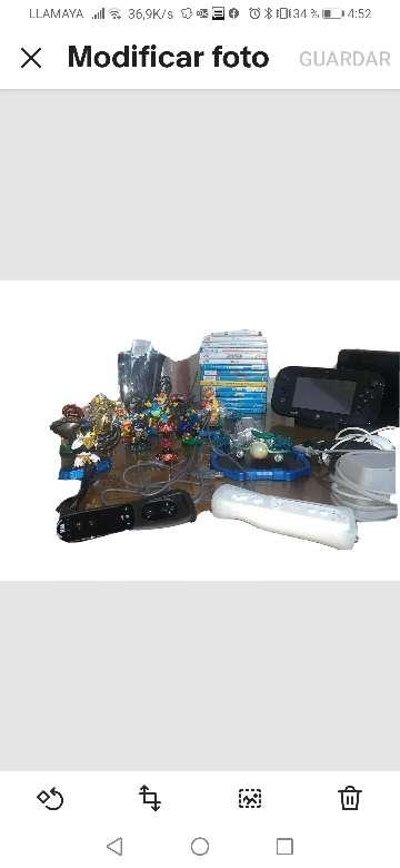 Imagen VENDO Wii u consola más accesorios como nueva