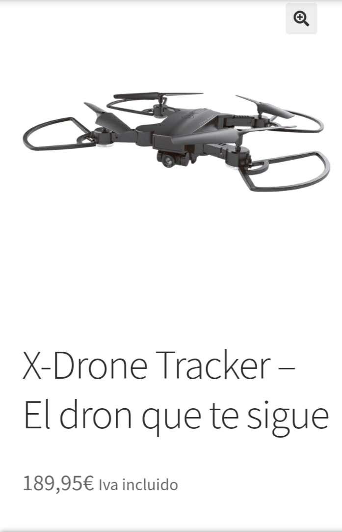 Imagen X-Drone Tracker El dron que te sigue