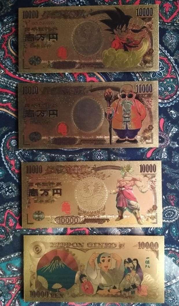 Imagen producto Pack Billetes colección Dragon Ball 4