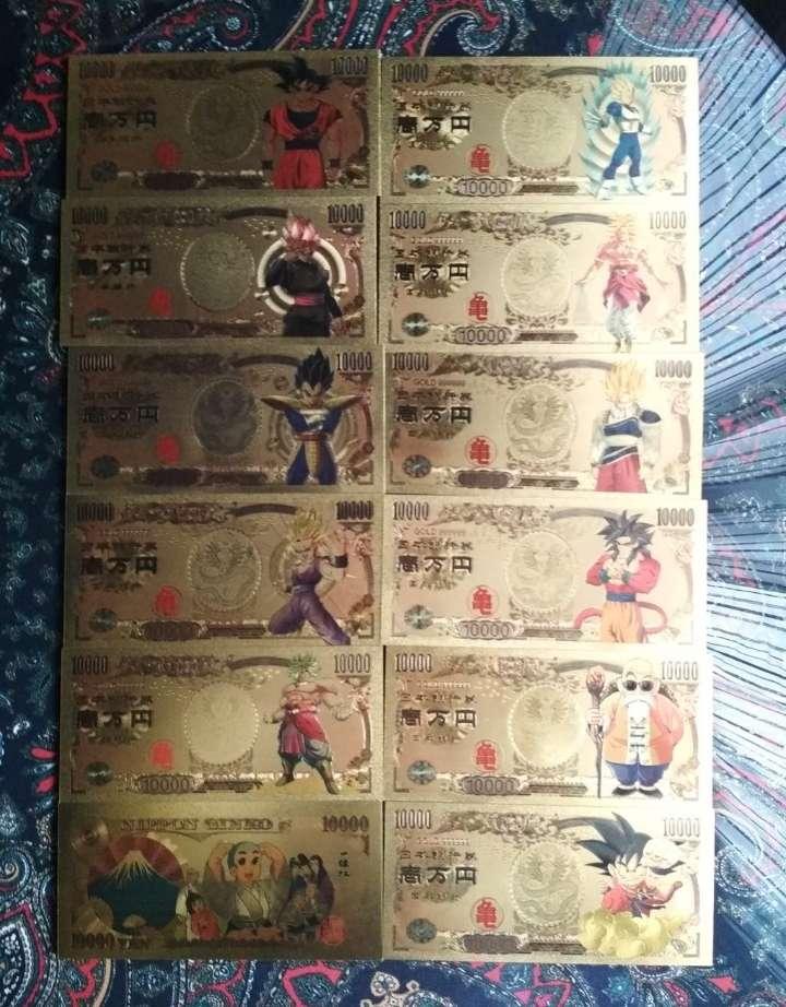 Imagen Pack Billetes colección Dragon Ball