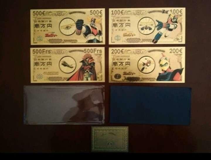 Imagen Pack Billetes colección Goldorak