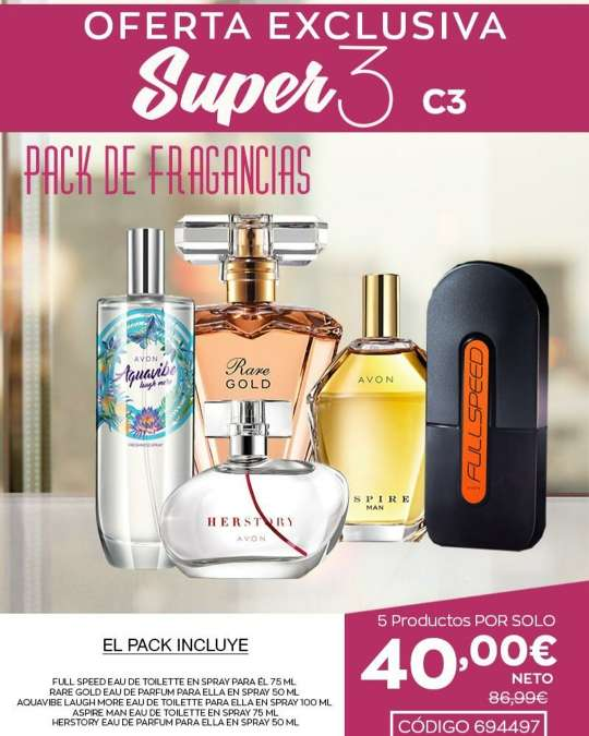Imagen paquete de perfumes