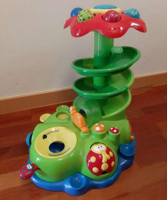 Imagen Spiral de actividades con bolas