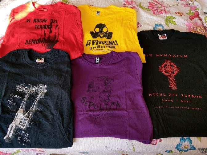 Imagen Lote Camisetas San Nicolás del Puerto