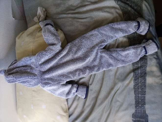 Imagen mono azul y gris