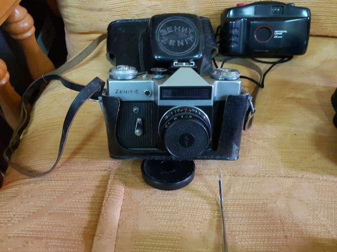 Imagen cámaras antiguas.