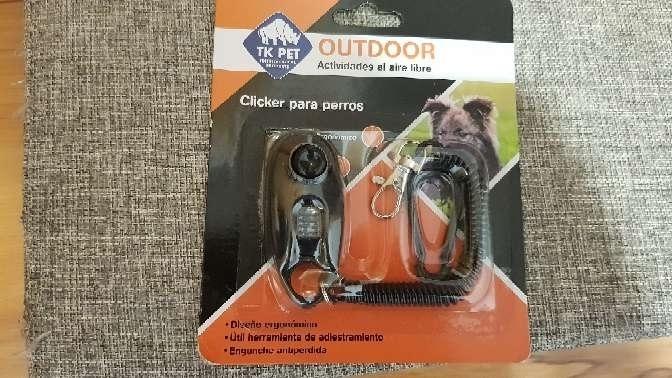 Imagen clicker para perros