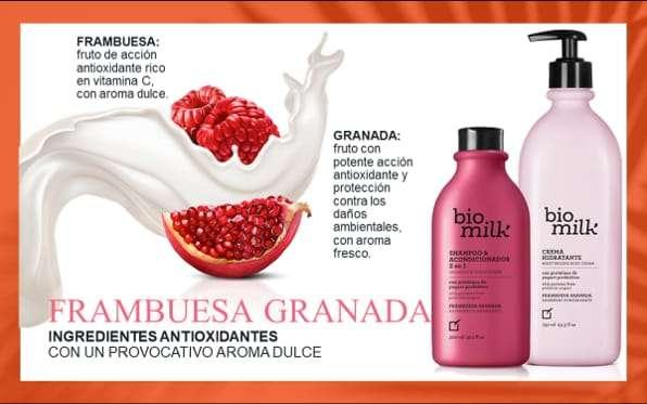 Imagen BIO MILK FRAMBUESA GRANADA De Yanbal