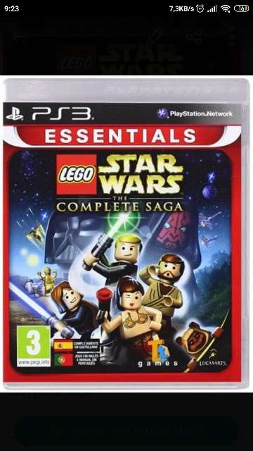 Imagen Juego ps3 Lego Star Wars