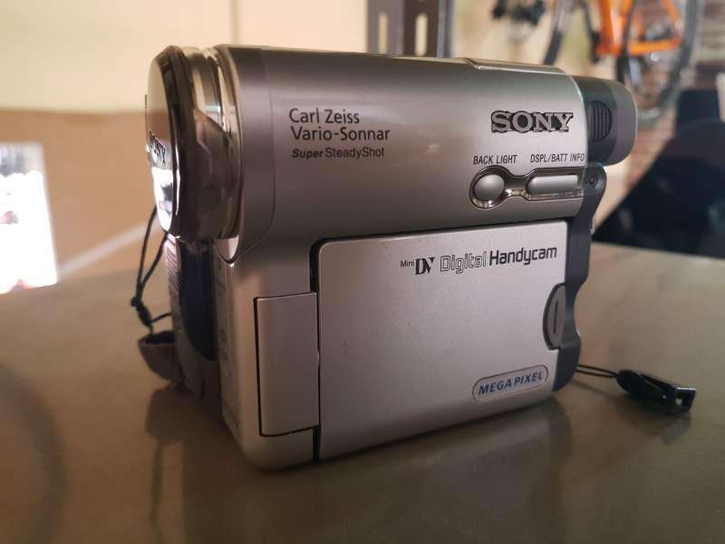 Imagen Sony video cámara dcr trv33e pal