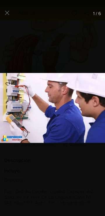 Imagen producto Electricista 4