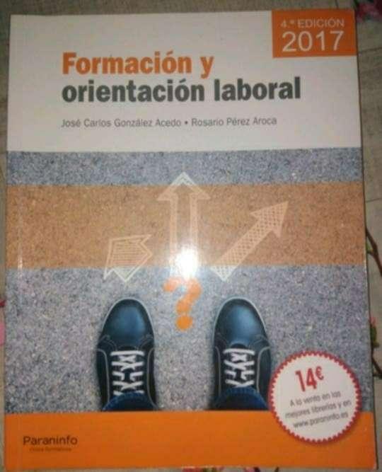 Imagen libro de formación y orientación laboral ( editorial paraninfo)