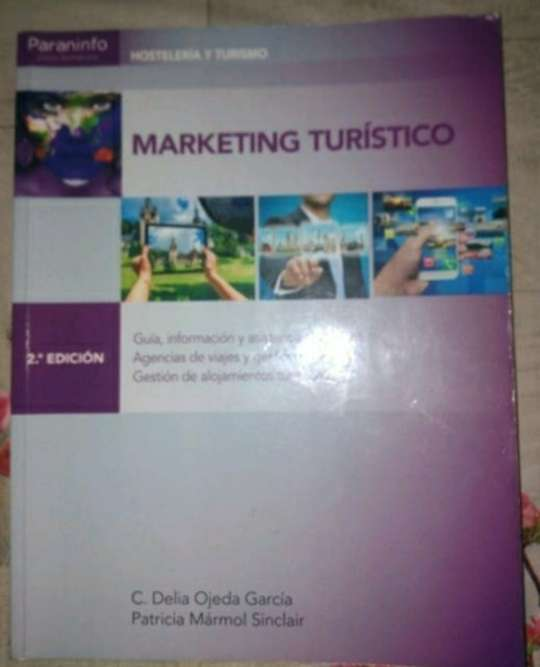 Imagen libro marketing turístico, editorial paraninfo