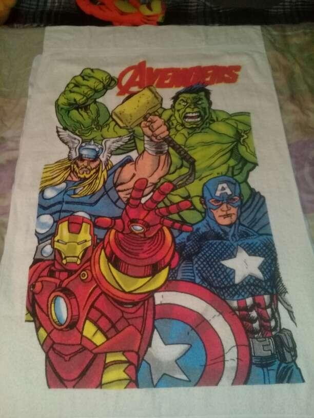 Imagen toallas de las princesas y de Avengers