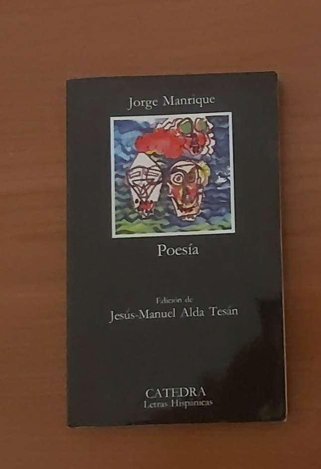 Imagen Jorge Manrique Poesía (CATEDRA letras hispánicas)