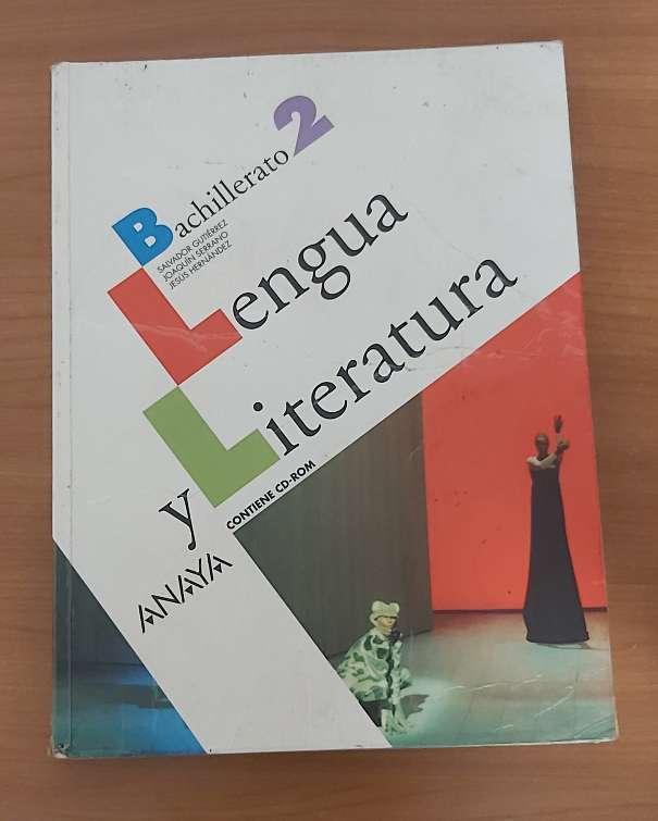 Imagen lengua y literatura Bachillerato 2 Anaya