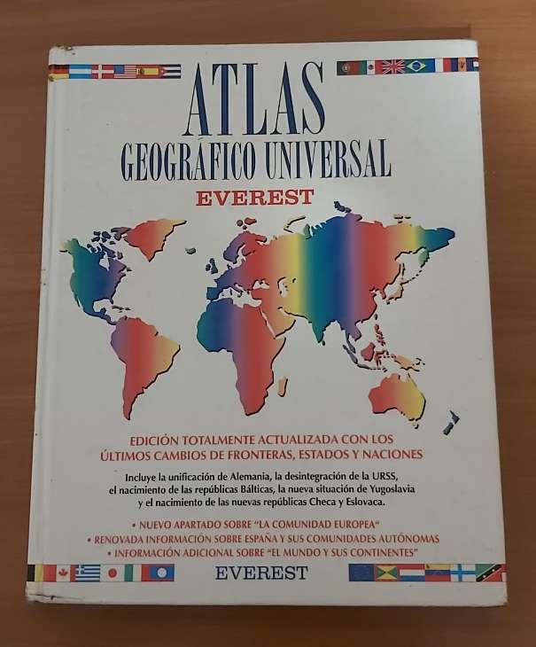 Imagen Atlas geográfico universal ( editorial everest)