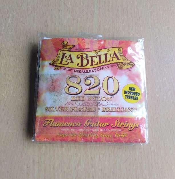 Imagen producto Cuerdas de naylon rojas la Bella.  2