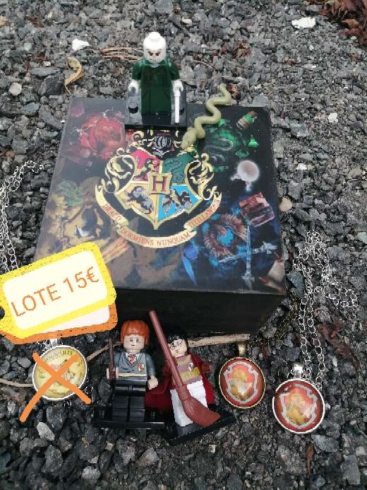 Imagen producto LOTE Harry Potter  1