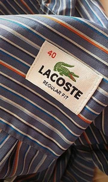 Imagen camisa de rayas lacoste