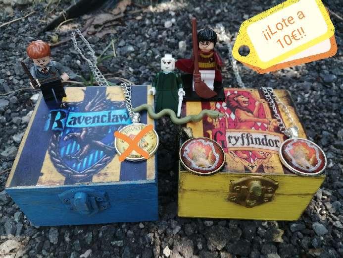 Imagen LOTE Harry Potter cajas pequeñas