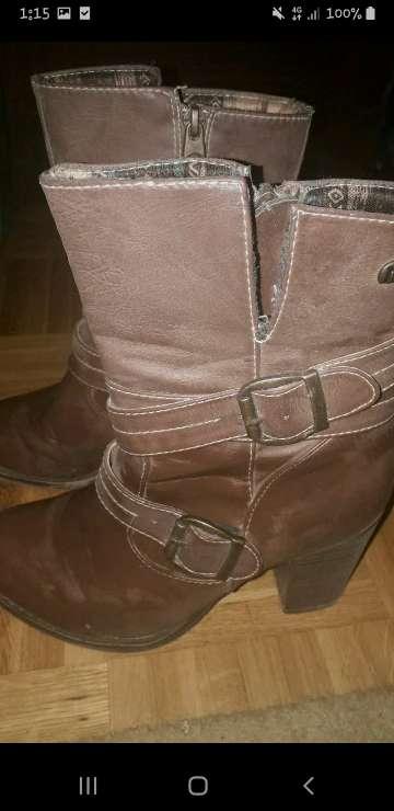 Imagen botas marrones