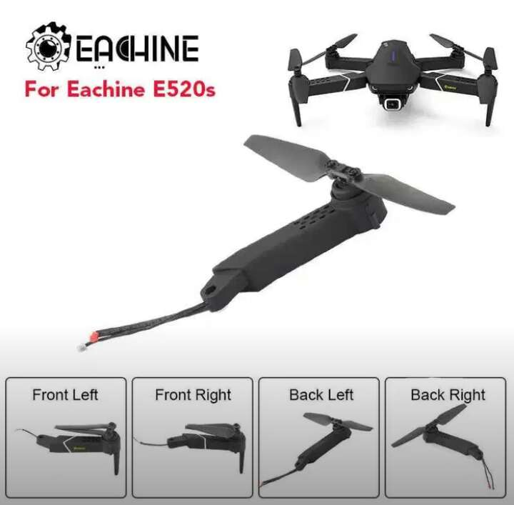 Imagen producto Brazo Drone E520s (repuesto) Completo. 3