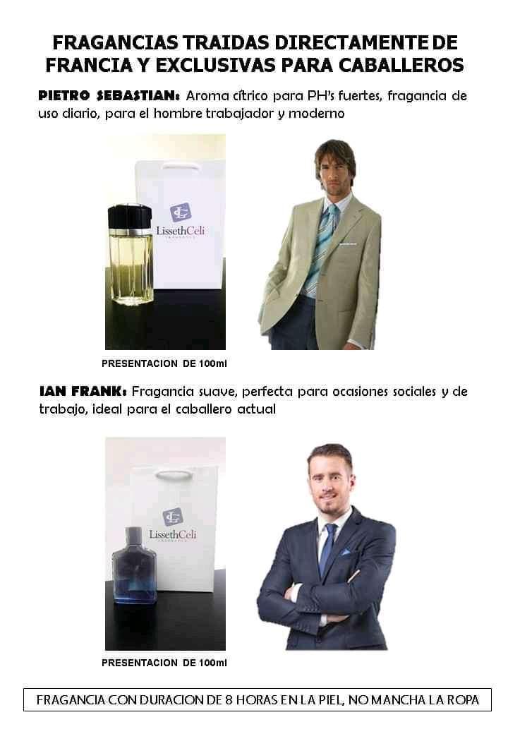 Imagen producto Perfumes  Lissethceli 3